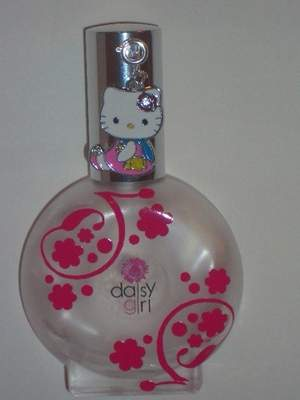 Daisy Girl Perfume with Hello Kitty Charm