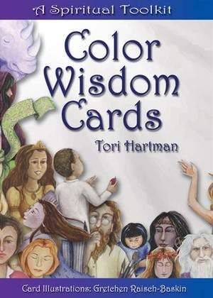 Front cover of the Color Wisdom Cards.