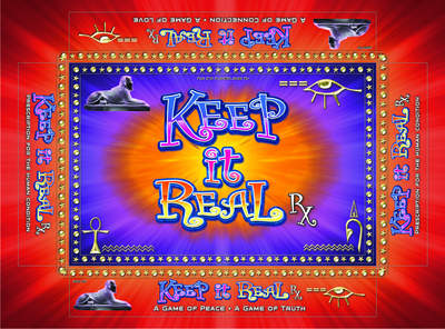 Keep It Real board game