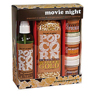 Urban Accents Movie Night Gift Set
