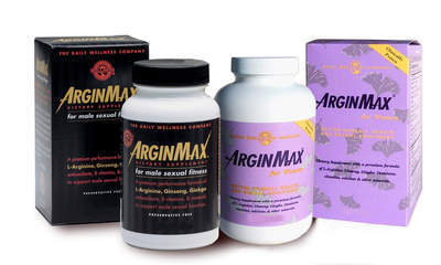 ArginMax for men and women.