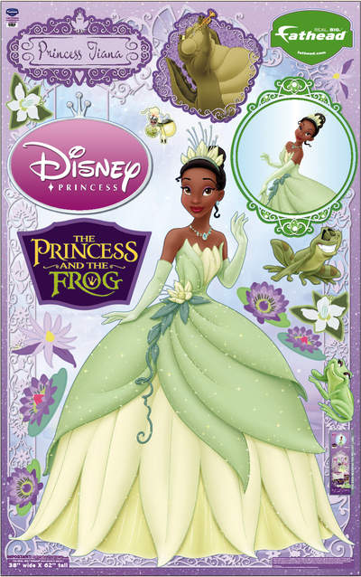 Princess and the Frog available at Fathead.com