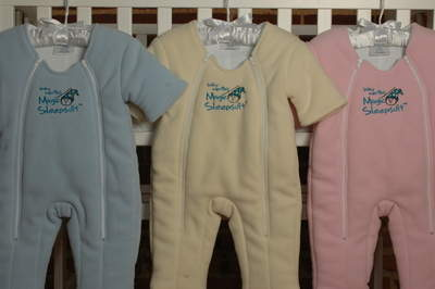The Magic Sleepsuit, Enjoy the Magic of a Sleeping Baby