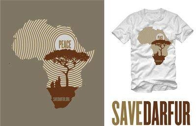 SAVE DARFUR PARTNERS WITH PROPR TO CREATE LIMITED EDITION TEE SHIRTS