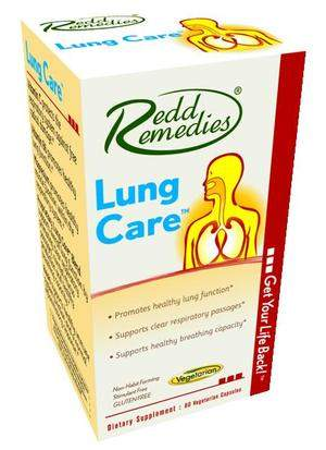 Redd Remedies Lung Care Makes Breathing Easier