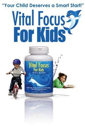 Vital Focus For Kids Helps Maintain Attention
