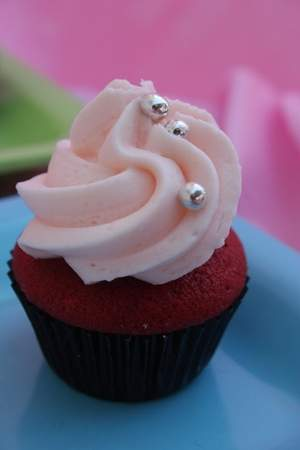 Mouth-watering cupcake from The Velvet Crumb