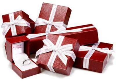 Individually Wrapped Gift Boxes