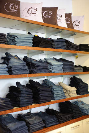 Denim Wall at Complemets Two