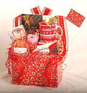 """I LOVE YOU"" Basket (Adults)"