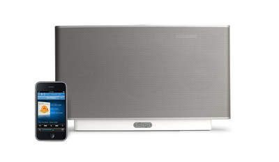 Sonos ZonePlayer S5 with the iPhone