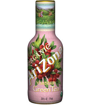AriZona's Organic Yumberry Green Tea