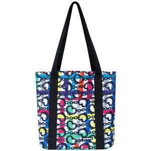 Luxury Tote in Funky Heart Chain