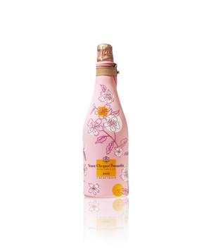 Veuve Clicquot Rose with Sakura Ice Jacket