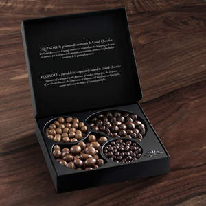 Equinoxe Collection of assorted Chocolate Covered Nuts & Dried Fruits