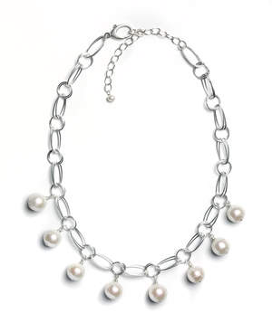 Bubble Double Link Necklace