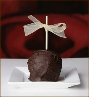 Dark Chocolate Gourmet Caramel Apple