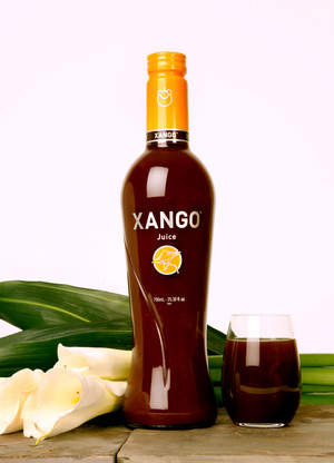 The first premium, functional mangosteen beverage, XanGo Juice.