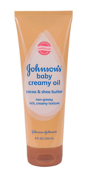 JOHNSON'S® Baby Creamy Oil Cocoa & Shea Butter