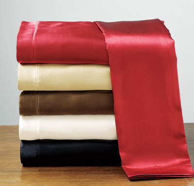 Satin Sheets for Valentines Day - Anna's Linens
