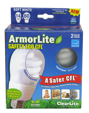 ClearLite ArmorLite, A safer CFL