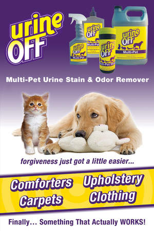 Urine Off Multi-Pet Urine Stain & Odor Remover