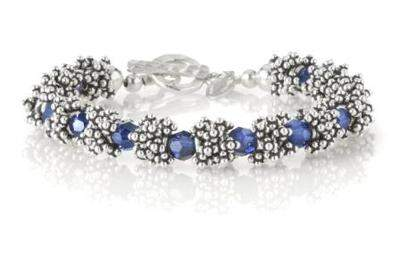 The Caviar Crystal Bracelet