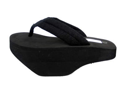 Black Trim Treads Sandal