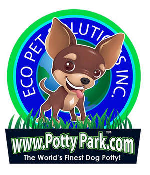 WELCOME TO POTTY PARK THE WORLDS FINEST DOG POTTY
