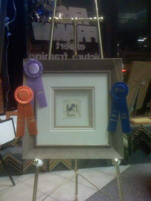 Prize winner, print framing contest