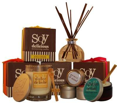 Soy Delicious Moisturizing Candles and Products