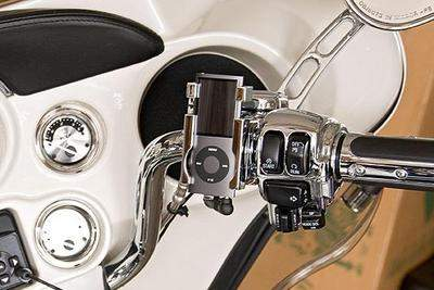 Rider's Claw CHROME iPod Mounts for your Harley Davidson
