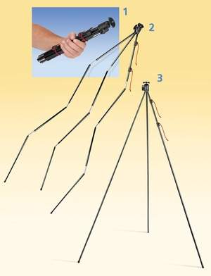 ZipShot light weight tripod