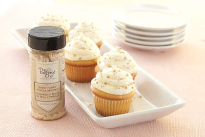 Sweet Honey Vanilla Sprinkle (Desserts and dishware not included.)
