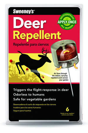 Sweeney's Deer Repellent Keeps Deer at Bay