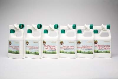 Fire Belly's Full 6 Step Organic Lawn Care System
