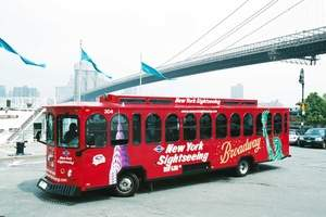 Gray Line New York Double-Decker Bus