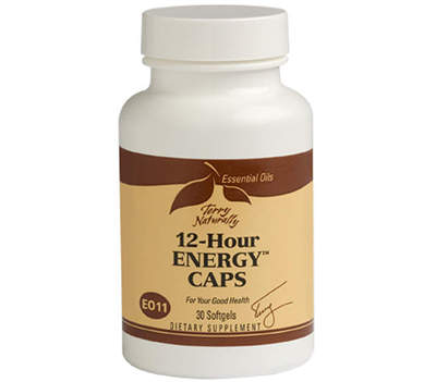12-Hour Energy Caps supports sustained energy levels