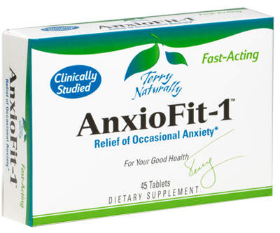 AnxioFit-1, Relief of Occasional Anxiety