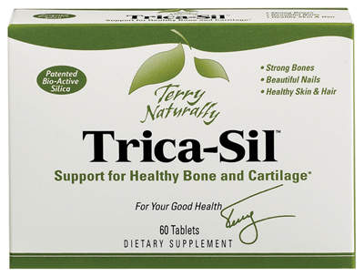 Trica-Sil provides support for healthy bone and cartilage
