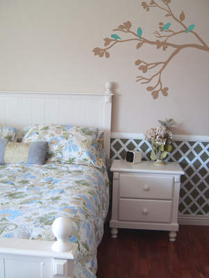 Bird and Branches Wall Decals