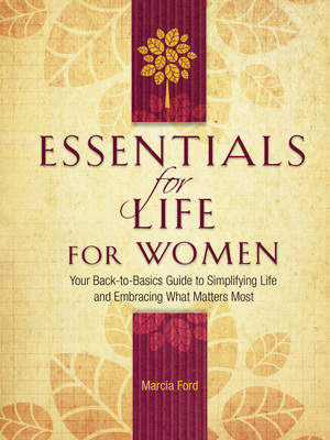 Essentials for Life for Women by Marcia Ford