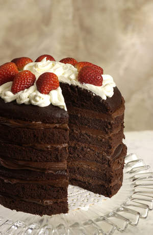 Pamela's Products chocolate cake