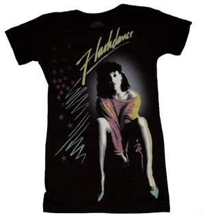 Flashdance T-shirt Front