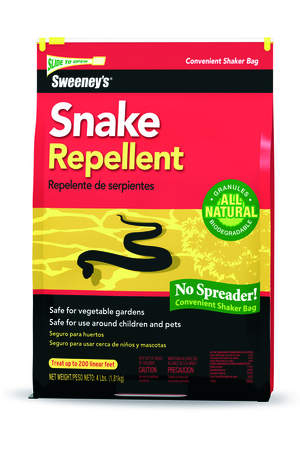 Sweeney's Snake Repellent is Safe to use Around Children, Pets and Gardens