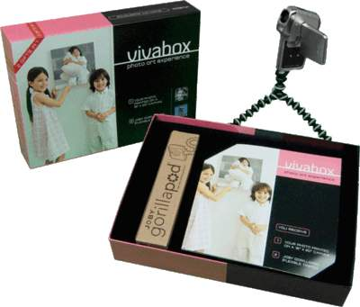 Photo Art themed vivabox is perfect for mom