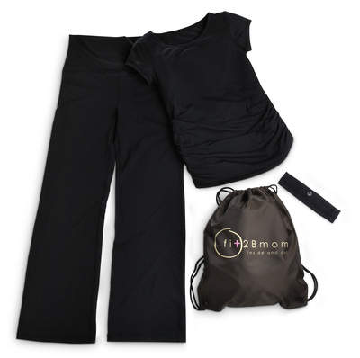 Fit2Bmom Active Kit in Black
