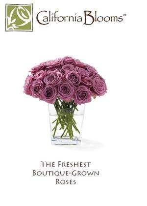 California Blooms Boutique-Grown Eco-Friendly Roses