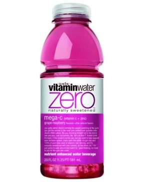 vitaminwater zero – great-tasting with zero calories per serving
