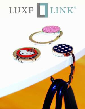 Luxe Link Purse Holder